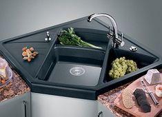 Granite corner sink - holtams.co.uk