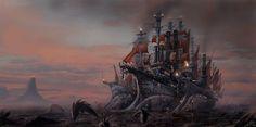 Piotr Zwierzchowski  #Steampunk #Fantasy #Battleship