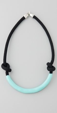 Orly Genger by Jaclyn Mayer Necco Enameled Rope Necklace - StyleSays