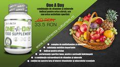 One A Day - Complex de multivitamine si minerale  Preţ redus: 33.5 RON în loc de 40 RON!!!  http://suplimente-culturism.ro/one-a-day.html