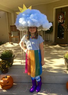 Travestimento The Effective Pictures We Offer You About kids costumes rainbow A quality picture can Crazy Hat Day, Crazy Hats, Diy Halloween Costumes For Kids, Diy Costumes, Wacky Hair Days, Rainbow Costumes, Baby Kostüm, Halloween Disfraces, Fancy Dress
