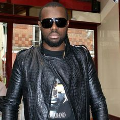 MAITRE GIMS ( SINGER) By SIMAHIRO COUTURE