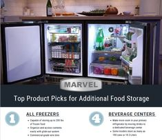 Chest Freezer, Beverage Center, Freezers, Easy Access, Food Storage, Refrigerator, Frost, Your Style, Baskets