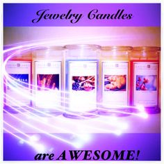 <3<3<3 Jewelry Candles