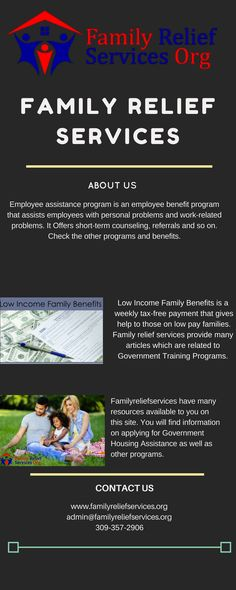 Family Relief Services Familyreliefcenter Profile Pinterest