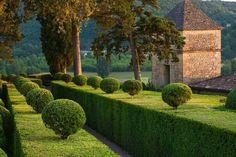 Perigord France Marqueyssac Garden