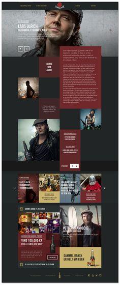 Cool Web Design on the Internet. Lars Ulrich. #webdesign #webdevelopment #website
