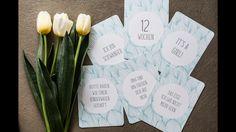 "Milestonecards ""Blue Flowers"""