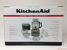KitchenAid KFP1133ACS Architect 11Cup Food Processor with ExactSlice