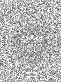 Art of Coloring Mandalas from KnitPicks.com Knitting by Jo Chapman