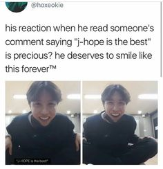 Jhope V Live<<< but its true and his smile could replace the sun