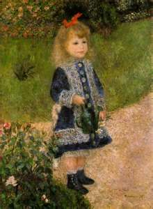 Renoir - Girl with Watering Can