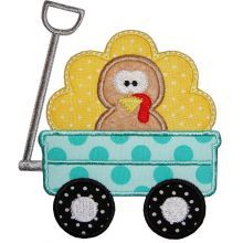 PA-turkey in wagon