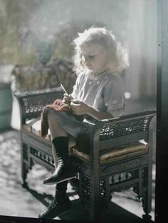 Authocrome Photographs France History Lumiere...  that little girl is knitting!