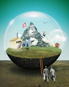 BEAUTIFUL ABSTRACT ART AND ILLUSTRATION BY JULIEN PACAUD