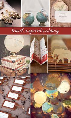 Travel-Inspired Wedding. #KendraScott