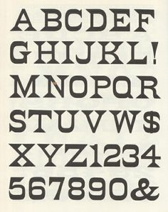 100 Wood Type Alphabets (Rob Roy Kelly, Dover Publications) | designers books