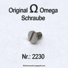 Omega 2230 Omega Schraube für Antriebsorgan für Sperradlager Part Nr. Cufflinks, Omega Watch, Aftermarket Parts, Wedding Cufflinks