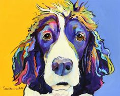 Sadie by Pat Saunders-White - Sadie Painting - Sadie Fine Art Prints and Posters for Sale