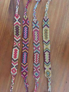 Bracelet brésilien tissés et colorés