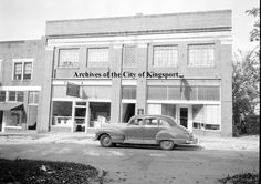 Businesses in this photo include Service Electric (215 Charlemont), Bennett's Pastry Shop (219 Charlemont)and Salvation Army (211 Charlemont).