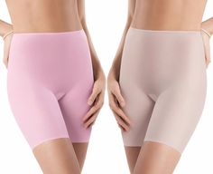 NWT SPANX Skinny Britches Sheer Layered Shaping Shorts 901 ALL SZS/COLOR R$42-48 #SPANXSkinnyBritches #SHAPEWEARSHORTSskinnybritches