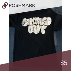 """Singled Out"" T-shirt shows sign of wear, lettering has some creases. Hot Topic Tops Tees - Short Sleeve"