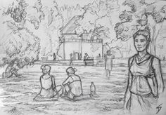 See 1649 photos and 94 tips from 12311 visitors to Kampa. Human Figure Sketches, Human Figure Drawing, Figure Sketching, Architecture Drawing Sketchbooks, Sketches Of People, Bachelor Of Fine Arts, Pencil Drawings, Pencil Art, Quick Sketch