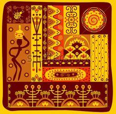 Африканский Орнамент стоковый вектор - Clipart.me