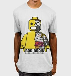 40 of the Best Lego Inspired T Shirts | 2. Lego Domination – by BadBrain