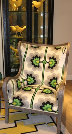 This Would Be A Fun Chair For The Dogs To Ruin. Wesley Hall  310 North  Hamilton Style Number 740 Fabric: Arabella/Malachite Finish: Greystone  Everybody ...