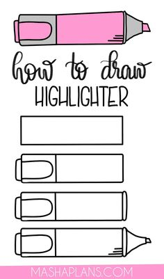 Cute and Easy Stationery Bullet Journal Doodles - Put your love for planning and stationery on paper with these cute and easy stationery Bullet Journ - Bullet Journal Writing, Bullet Journal Aesthetic, Bullet Journal Ideas Pages, Bullet Journal Inspiration, Little Doodles, Cute Doodles, Easy Doodles, Doodle Art For Beginners, Easy Doodle Art