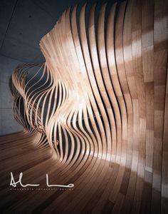 Living Parquet by Alessandro innocenti, via Behance
