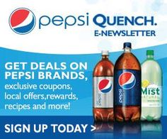 Tri Cities On A Dime: SIGN UP FOR THE PEPSI QUENCH NEWSLETTER – RECEIVE ...