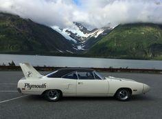 Four-Links – Superbird in Alaska, literary road trips, pulled Pontiac, JoHan Defender Car, Plymouth Superbird, Paper Car, Camaro Car, Truck Wheels, Car Pictures, Custom Cars, Motor Car, Automobile
