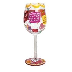Lolita Months of the Year Wine Glasses - Time Your Gift - 5