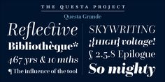 Check out the Questa Complete font at Fontspring.