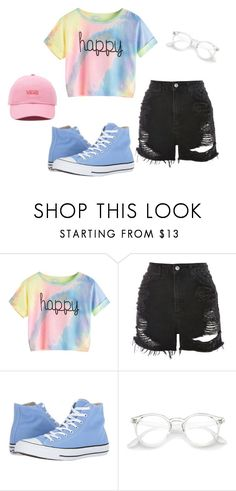 """Untitled #242"" by teleaht on Polyvore featuring Topshop, Converse and Vans"