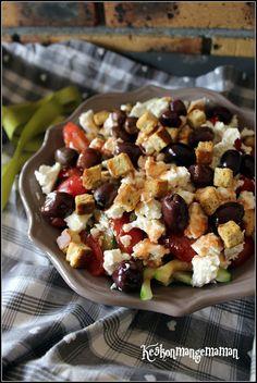 Keskonmangemaman?: Battle Food #61 , salade à la grecque
