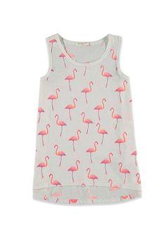 Flamingo Racerback Tank (Kids) - GIRLS - 2002247730 - Forever 21 EU
