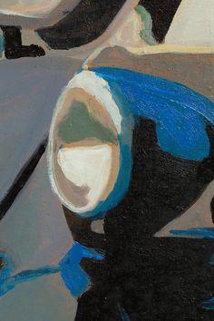 pLAY iSETTA - 120 x 160cm - SOLD  Oil on Canvas / Peinture à L'huile sur toile