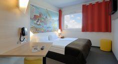 Zweibettzimmer im B&B Hotel Hamburg-Harburg