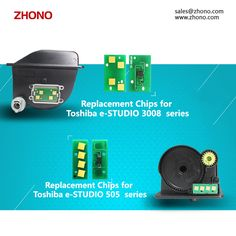 Zhonos Releases Replacement Chips for Toshiba 505 & 3008 Series