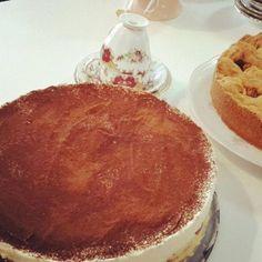 Heerlijke tiramisu taart gemaakt door ZOET! #Tiramisu #Taart #Delicious #Zoet #Theehuis #Lunchroom #Zeist