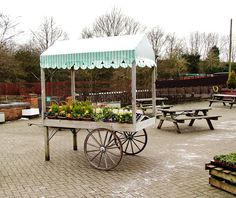 Flower cart by Mike Maynard