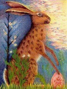 Greenwood Hare, Greenwood Tarot Queen of Wands