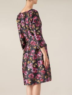 Compre Oscar de la Renta Vestido floral flare  em L'Eclaireur from the world's best independent boutiques at farfetch.com. Over 1000 designers from 300 boutiques in one website.