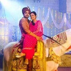 Gurmeet Choudhary, Drashti Dhami, Saree Dress, Best Couple, Horse Riding, Favorite Tv Shows, Romantic, Poses, Couples