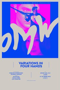 mogollonny:  Branding, Identity and Poster design for OMW by Mogollon