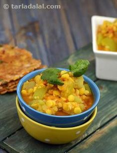 Everyday fare, the Doodhi and Chana Dal Subzi is a wealth of good health. Rich in protein and folic acid, thanks to chana dal and doodhi, this subzi can be prepared easily and quickly provided you have soaked the dal earlier. The best part is that this no-fuss, no-sweat recipe is made with ingredients that you are sure to have at home!